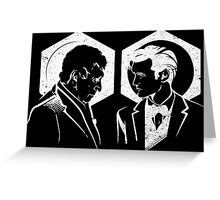 Doctors (White) Greeting Card