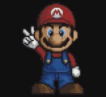 Mario Pixelart Kids Tee