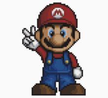 Mario Pixelart Kids Clothes