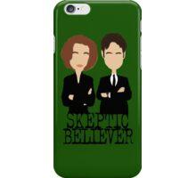 Skeptic or Believer? iPhone Case/Skin