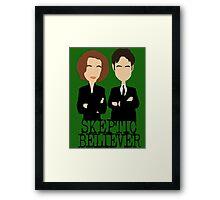 Skeptic or Believer? Framed Print