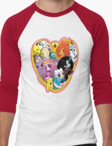 Adventure Time - Group Hug Men's Baseball ¾ T-Shirt