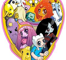 Adventure Time - Group Hug by 57MEDIA