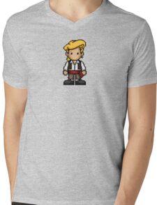 Guybrush Threepwood Mens V-Neck T-Shirt