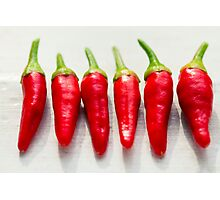 Red Chillies Photographic Print