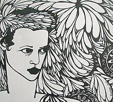 Head piece by Rochele Royster