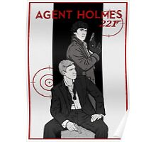 Agent Holmes  Poster