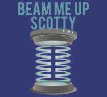 Beam Me Up Scotty by mralan