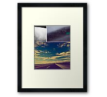 Come on, take the journey Framed Print