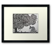 Tending the Garden Framed Print