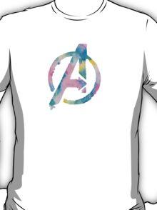 Watercolor Avengers (white)  T-Shirt