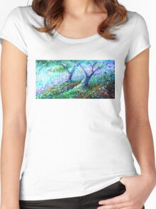 Healing Trees Women's Fitted Scoop T-Shirt