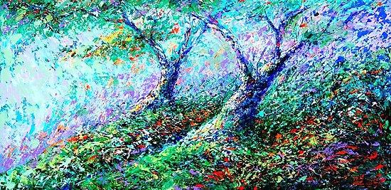 Healing Trees by gerardo segismundo