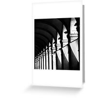 All is black and white Greeting Card