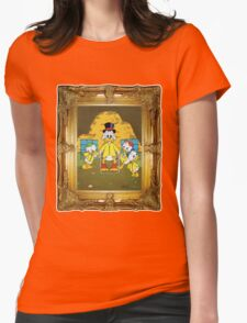 Breaking Ducktales Womens Fitted T-Shirt