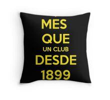 FCB BEST TEAM OF FOOTBALL 2015 Throw Pillow