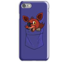 Foxy in my Pocket iPhone Case/Skin