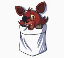 Foxy in my Pocket One Piece - Short Sleeve