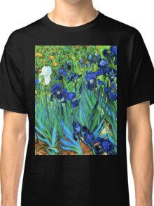 Van Gogh HDR Garden Irises Classic T-Shirt