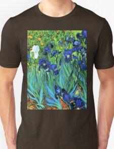 Van Gogh HDR Garden Irises T-Shirt
