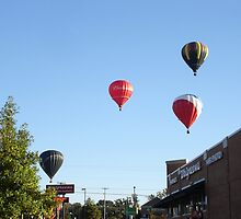 Balloons over Natchez by wolfepaw