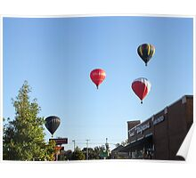 Balloons over Natchez Poster