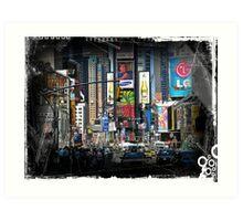 Manhattan#7 Art Print