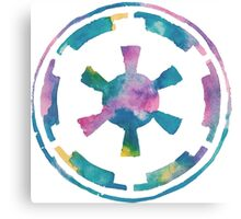 Watercolor Galactic Empire (white) Canvas Print
