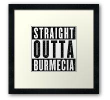 Burmecia Represent! Framed Print