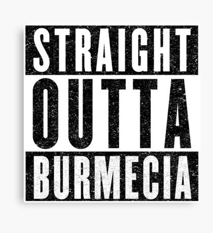 Burmecia Represent! Canvas Print