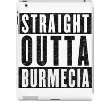 Burmecia Represent! iPad Case/Skin