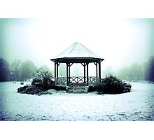Winter Band Stand - Leighton Buzzard Photographic Print