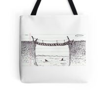 Sharks in the Water - Conference Doodles Tote Bag