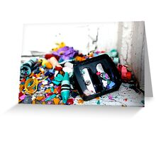 Childs Mess-Viewpoint Greeting Card