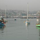 Brixham Misty morning No2 by StephenRB