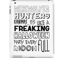 A Freaking Halloween Party iPad Case/Skin