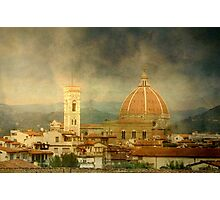Dreams of Tuscany  Firenze Photographic Print