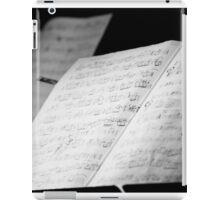 Jazz Notes iPad Case/Skin