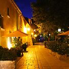 Gassin by Night on the French Riviera by Bruno Beach