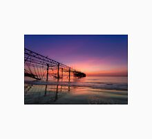Totland Pier Caught In The Afterglow Unisex T-Shirt