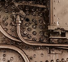 Steam Locomotive - NY Central - Controls by Robert Kelch, M.D.