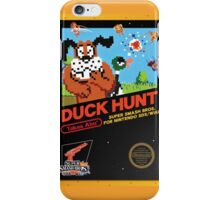 Duck Hunt Takes Aim! iPhone Case/Skin