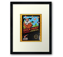 Duck Hunt Takes Aim! Framed Print