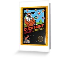 Duck Hunt Takes Aim! Greeting Card