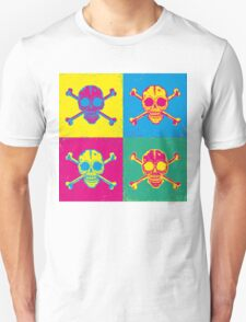 bright color skulls Unisex T-Shirt