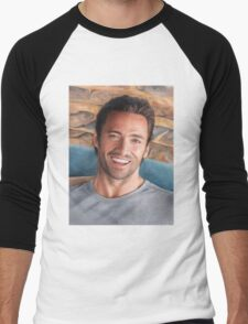Hugh Jackman Art Men's Baseball ¾ T-Shirt