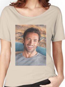 Hugh Jackman Art Women's Relaxed Fit T-Shirt