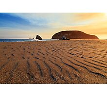 Sunset On The Sands Of Brookings Photographic Print