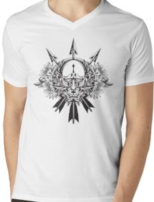 Oni Demon Mens V-Neck T-Shirt