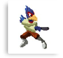 Pixel Falco Lombardi Star Fox Melee Canvas Print